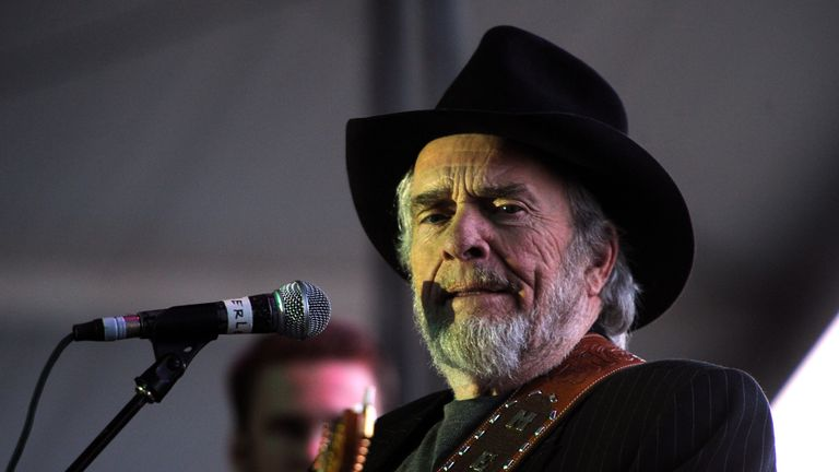 Country Music legend Merle Haggard died 6 April aged 79
