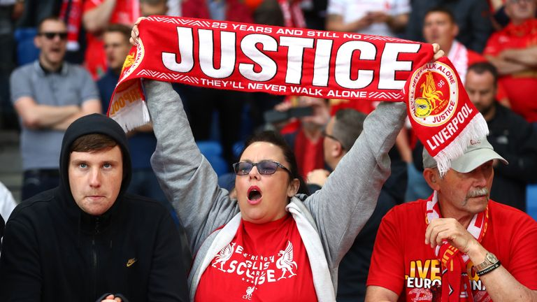 Liverpool fans have been campaigning for justice for the last 27 years