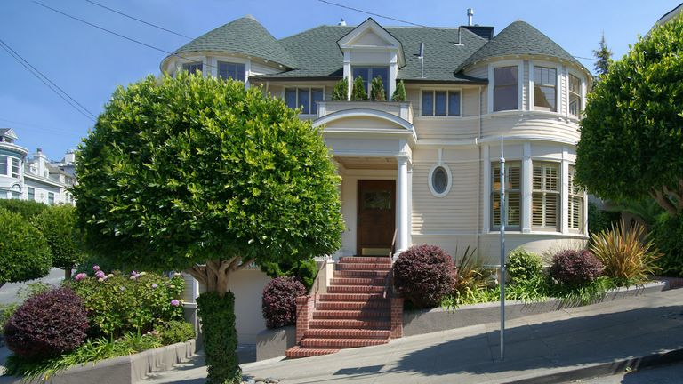 The house used in the film Mrs Doubtfire has been sold. Pic: Vince Valdes/stevegothelf.com/