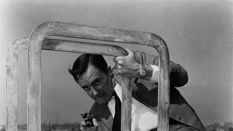 Mr Vaughn was famous for his role as Napoleon Solo in The Man From UNCLE