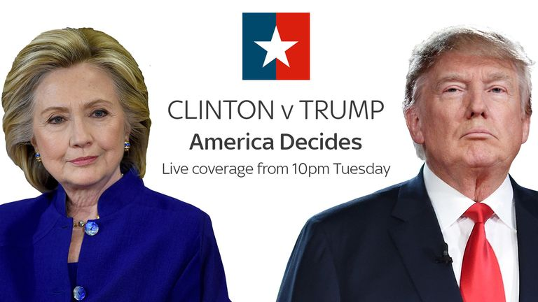 Clinton v Trump: Live coverage from 10pm Tuedsay