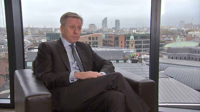 Deloitte UK's chief executive says more than 100 nationalities work for the firm