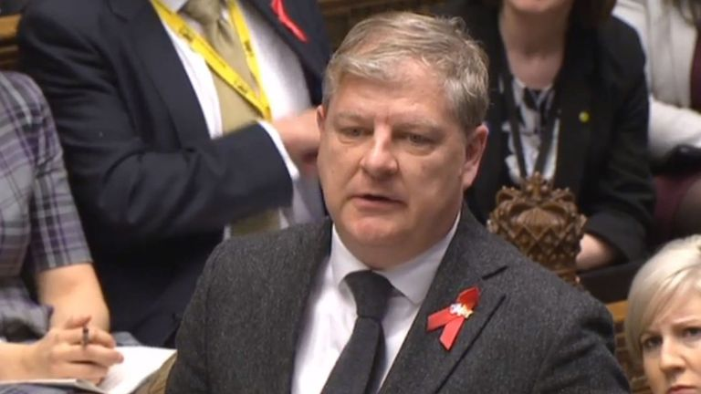 SNP Westminster leader Angus Robertson speaks during Prime Minister's Questions in the House of Commons, London. PRESS ASSOCIATION Photo. Picture date: Wednesday November 30, 2016. See PA story POLITICS PMQs SNP. Photo credit should read: PA Wire