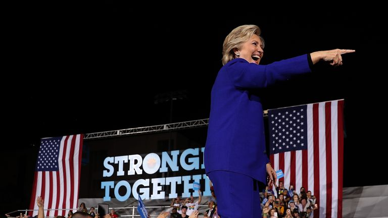 Hillary Clinton campaigns in Arizona