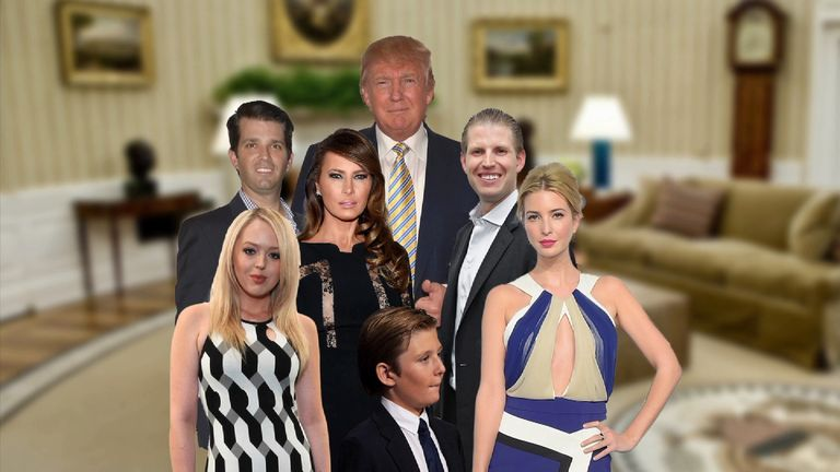 The Trump family is preparing for life at the White House