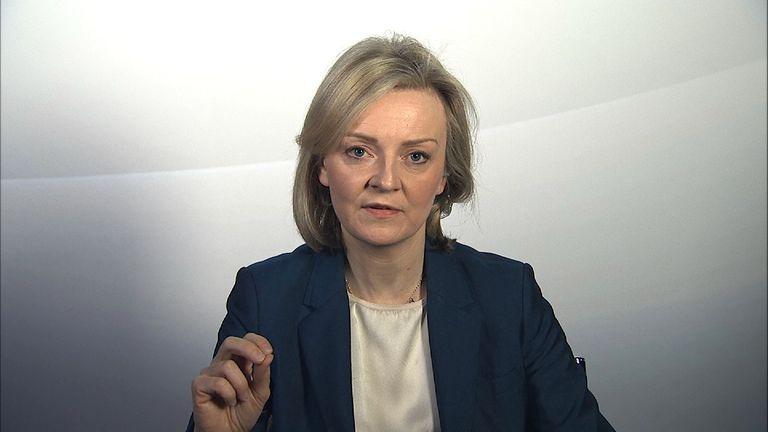 Justice secretary Liz Truss MP on prison strikes