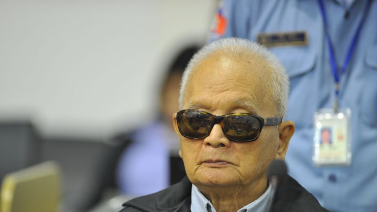Nuon Chea  was Pol Pot's right-hand man during the 1970s