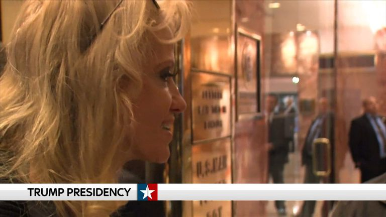 Trump's campaign manager Kellyanne Conway