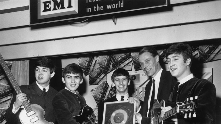 Beatles producer Sir George Martin died aged 90 on March 8