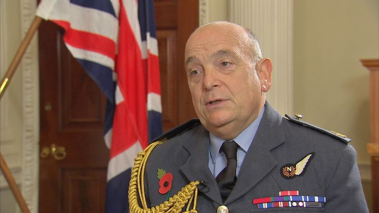 Sir Stuart Peach says he is sure NATO will continue