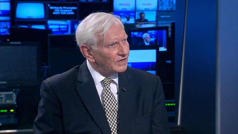 Former Conservative MP Harvey Proctor talks to Dermot Murnaghan on SNT