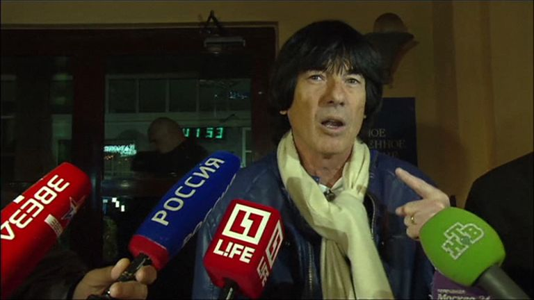 Didier Marouani claims Filipp Kirkorov stole some of his music