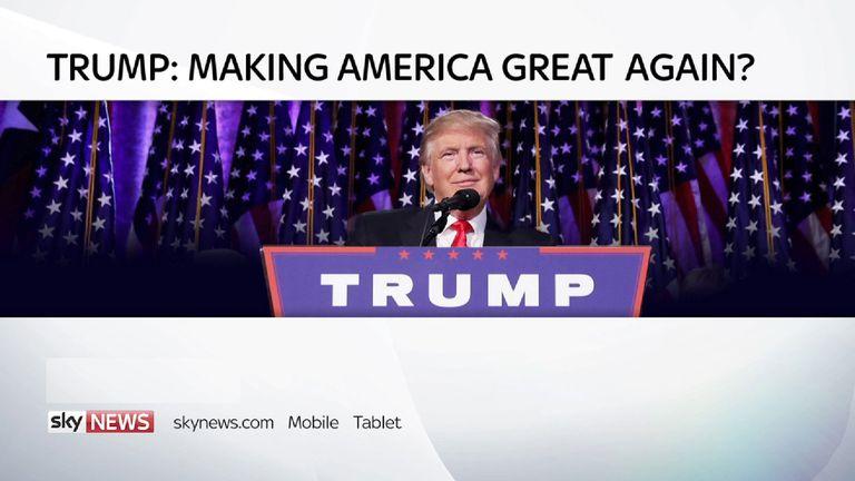Trump: Making America great again?