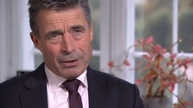 Anders Fogh Rasmussen, former Danish PM and Secretary General of NATO