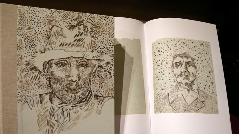 Vincent Van Gogh, The Fog Of Arles: The Rediscovered Sketchbook reproduces the drawings