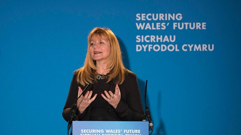 Kay Swinburne is the Conservative MEP for Wales