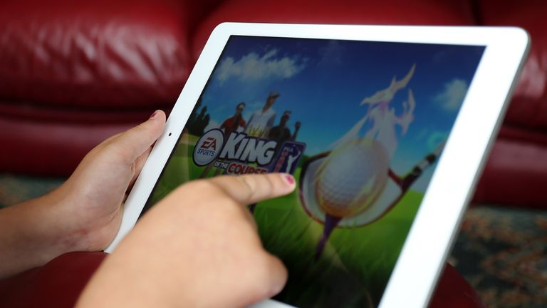 Tablets are particularly popular among children of pre-school age