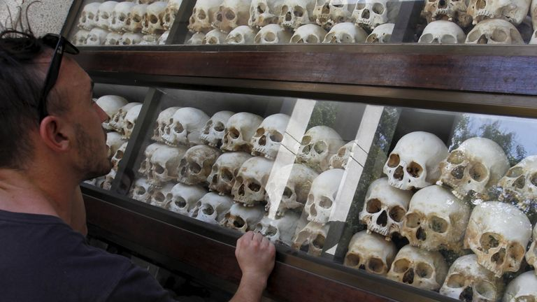 Up to two million people were killed under Pol Pot's regime