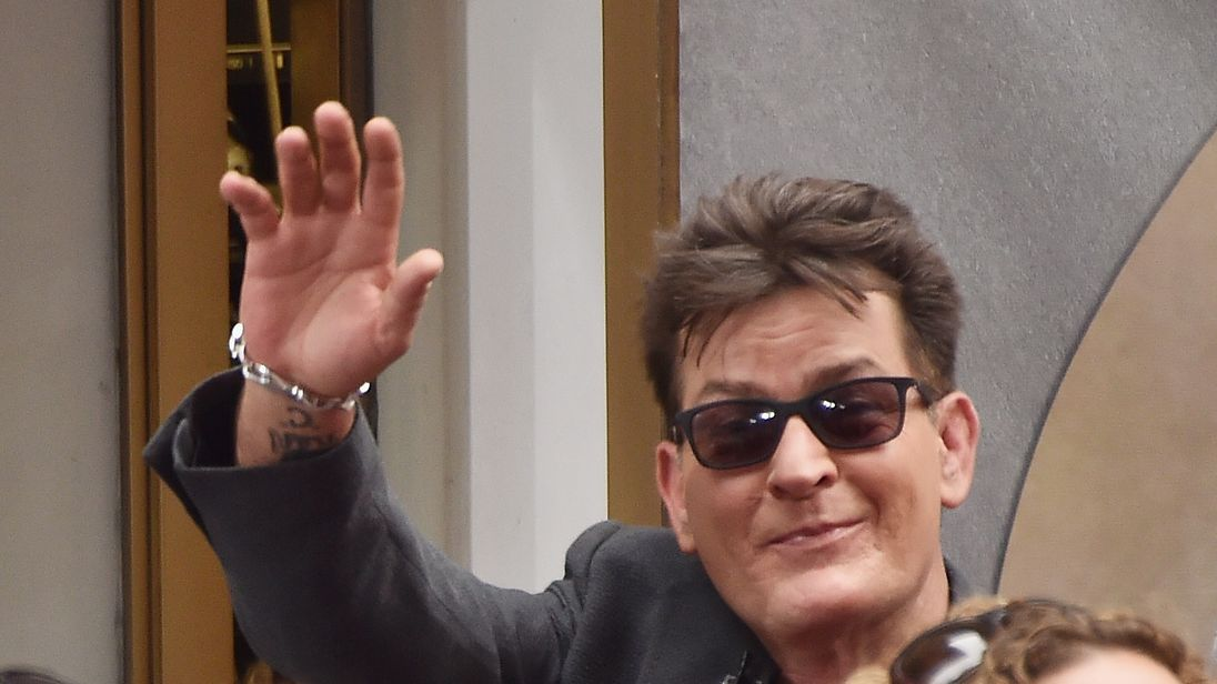 Charlie Sheen is the best paid TV actor of all time