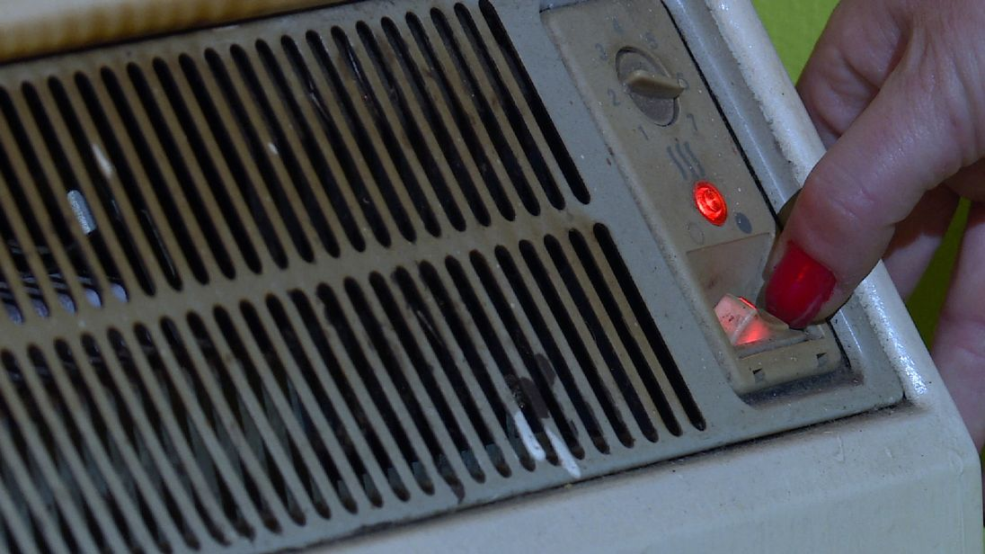 Many people are having to cut back on using heating