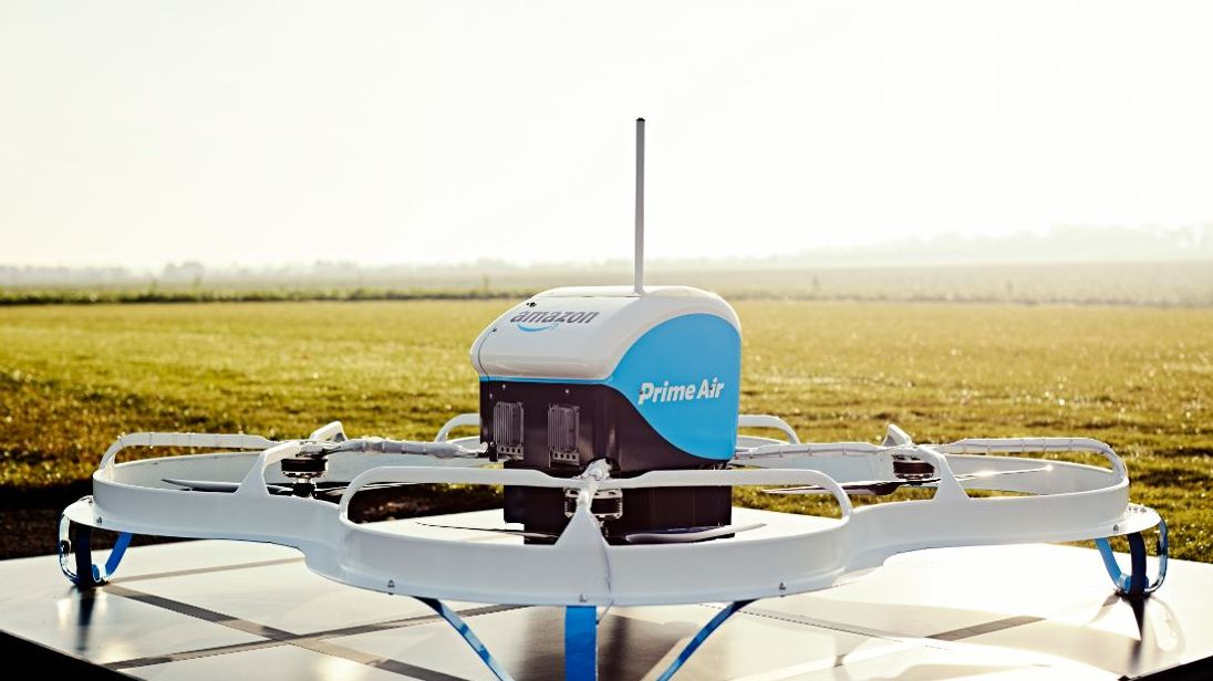 Video        2016 Amazon makes first delivery using drone