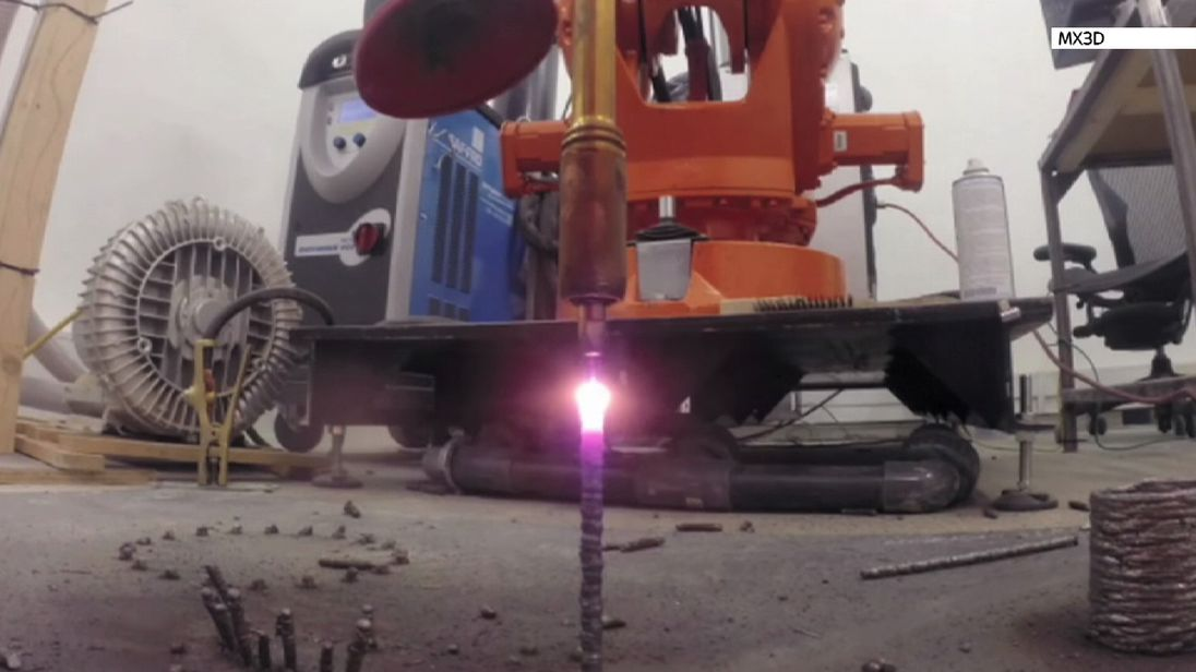 What happens to industrial robots when they retire?