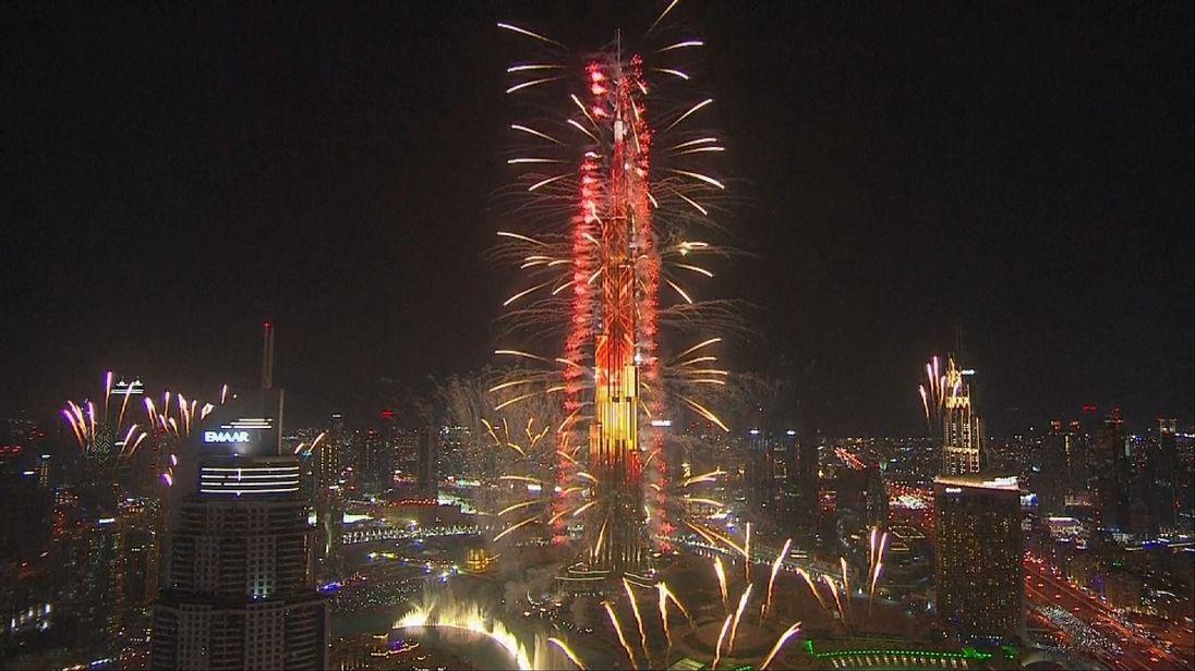 Dubai welcomes 2017