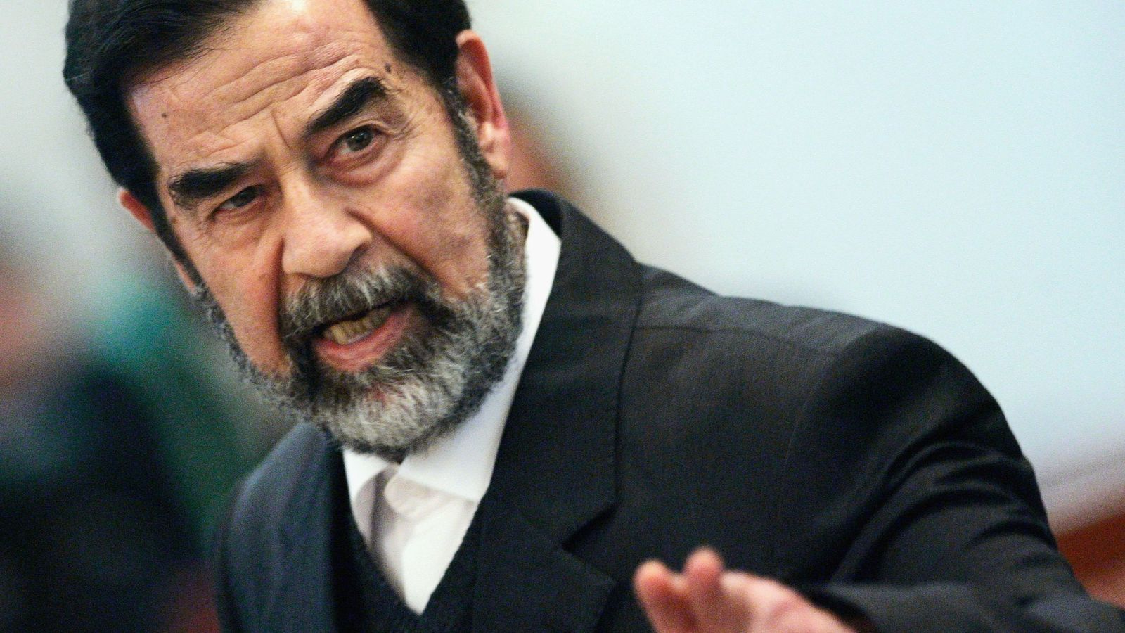saddam hussein essay The history of saddam hussein and his leadership capabilities started up in small village on the outskirts of the city of tikrit (gbutt [7]) where he was born in 1937 and grew up facing the.