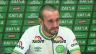 Chapecoense player Alan Ruschel
