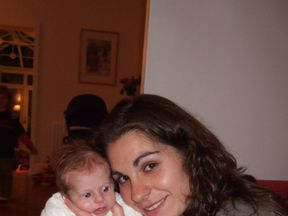 Liz Curtis with her daughter Lily Merritt