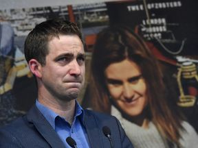 Brendan Cox, whose Labour MP wife Jo was murdered by a far right extremist