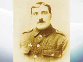 Sgt Andrew Neil of the 5th Battalion Northumberland Fusiliers
