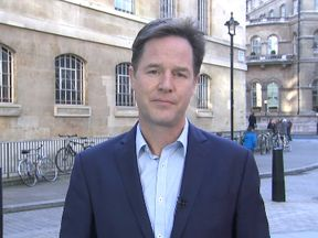 Nick Clegg says voters should switch allegiance to support parties who oppose Brexit