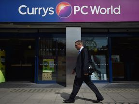 A Currys PC World store in central London in May 2014