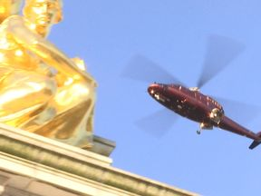 Queen's helicopter