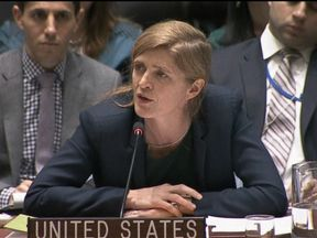 Samantha Power attacked Russia over the assault on Aleppo