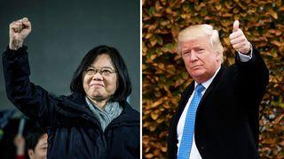 Tsai and Trump