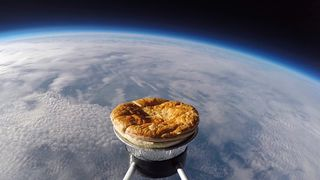 Pic: Sent Into Space/World Pie Eating Championships