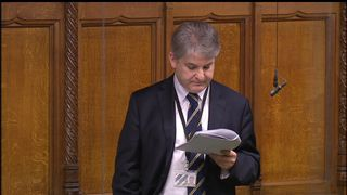 Philip Davies spoke for 78 minutes filibustering a bill to prevent violence against women and girls