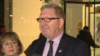 General Secretary of Unite, Len McCluskey, announces that some planned airport staff strikes have been called off