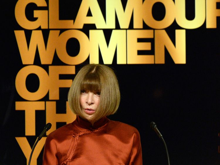 Vogue magazine Editor-in-Chief Anna Wintour will become a dame for services to fashion and journalism