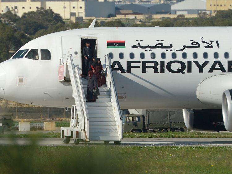 Passengers released