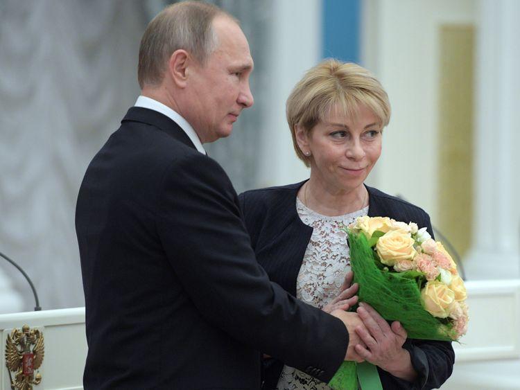 President Putin has honoured Dr Yelizaveta Glinka for her charity work