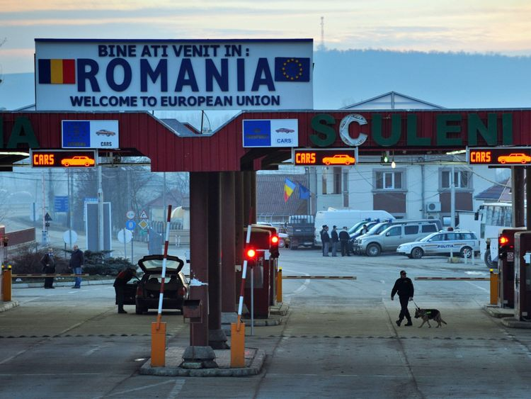 Some ten percent of all migrants to the UK arrived from Romania