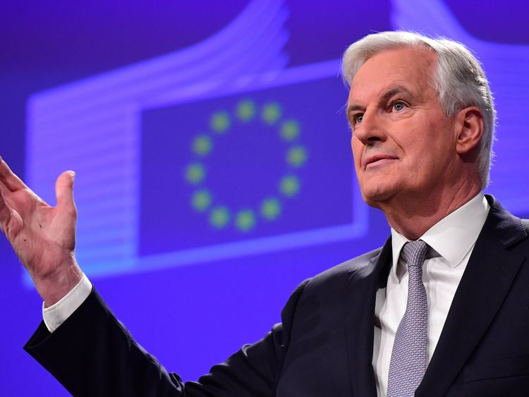 Michel Barnier, the EU's chief negotiator