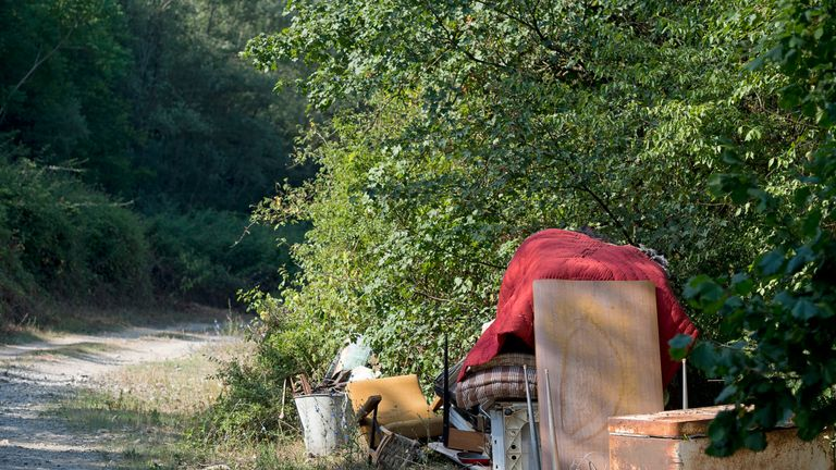 Clearing up fly-tipped waste costs authorities in England £50m
