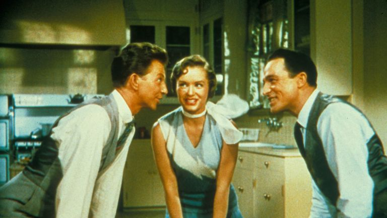 Reynolds starred alongside Donald O'Connor and Gene Kelly in Singin' In The Rain