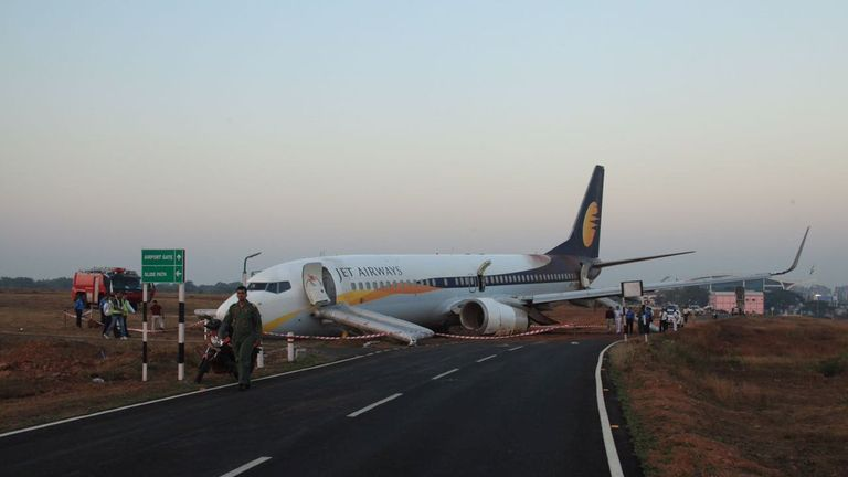 The plane had been bound for Mumbai