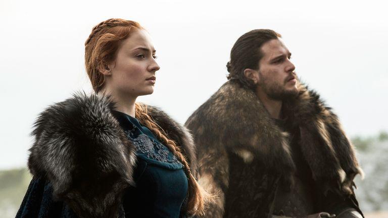 Sansa Stark took back Winterfell with her half brother Jon Snow