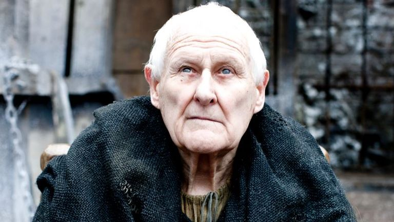 The actor portrayed the blind Maester Aemonfor five years